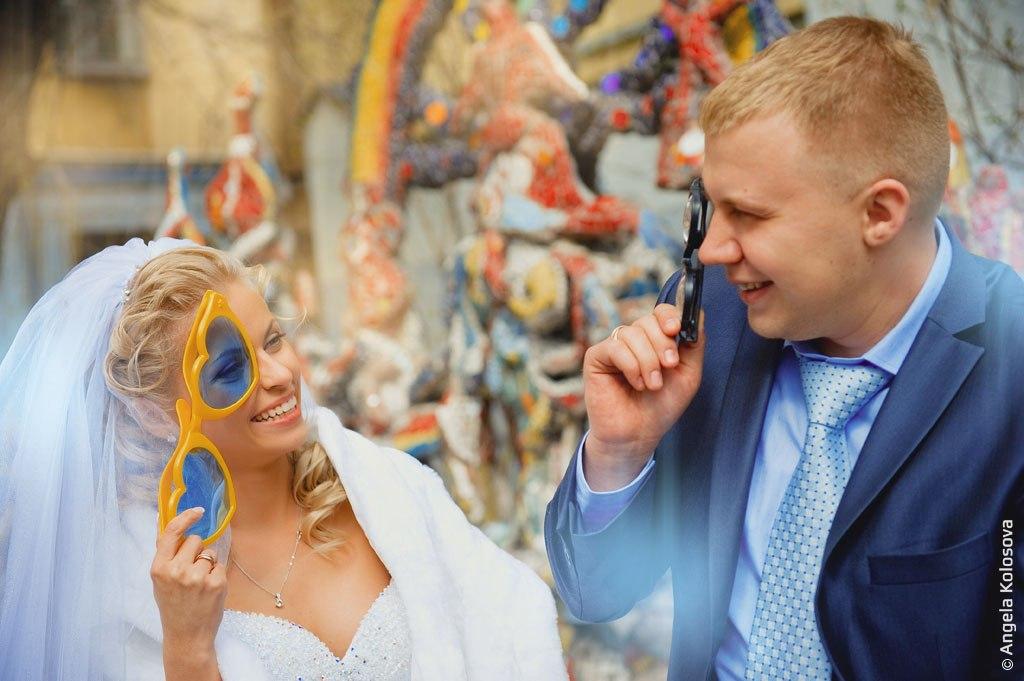 Свадебная прогулка по историческому центру городу
