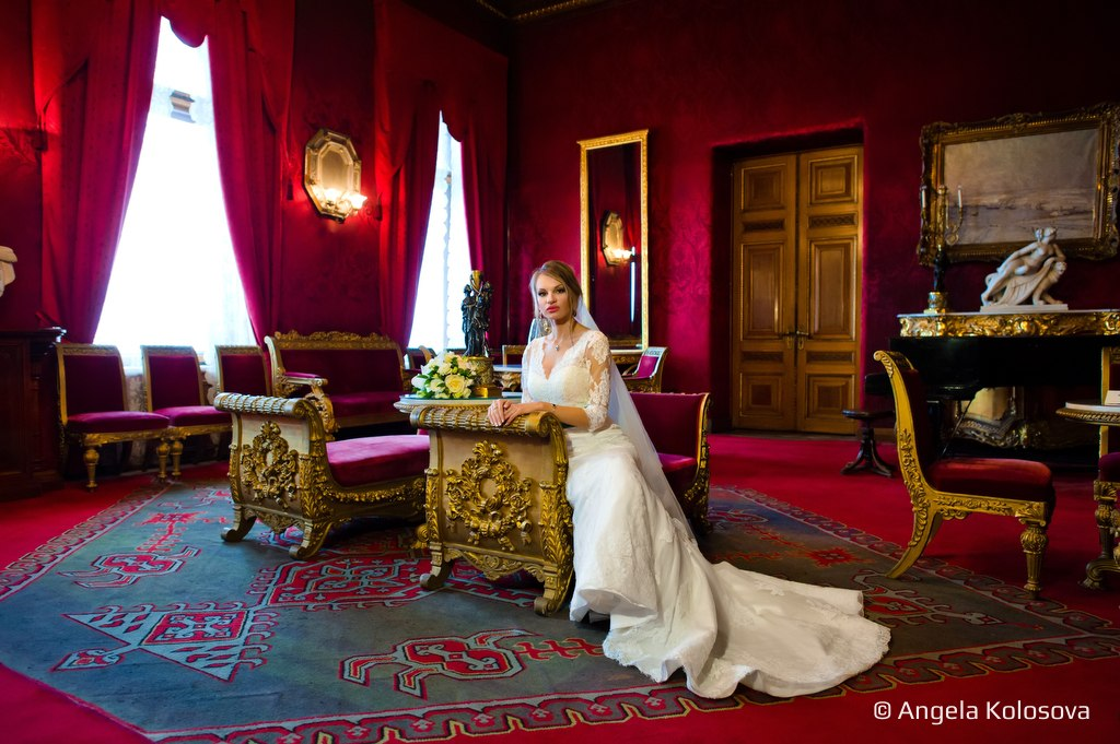 Фотосессия во дворце князя Владимира